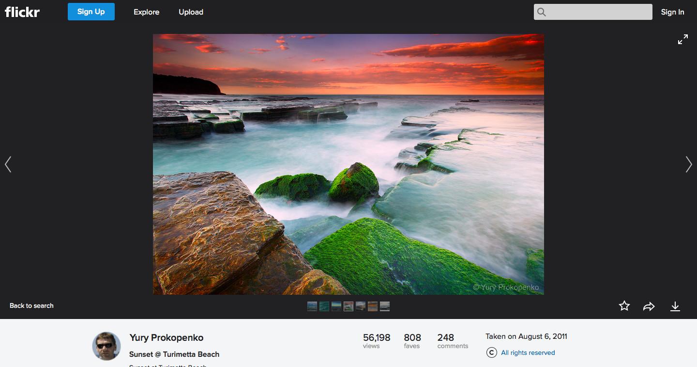 Flickr : 無料で1TBまでアップロードできる写真共有サービス | Choicely